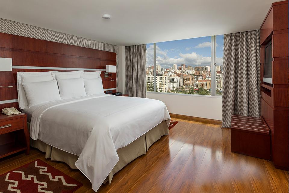 Suite in JW Marriot Hotel.
