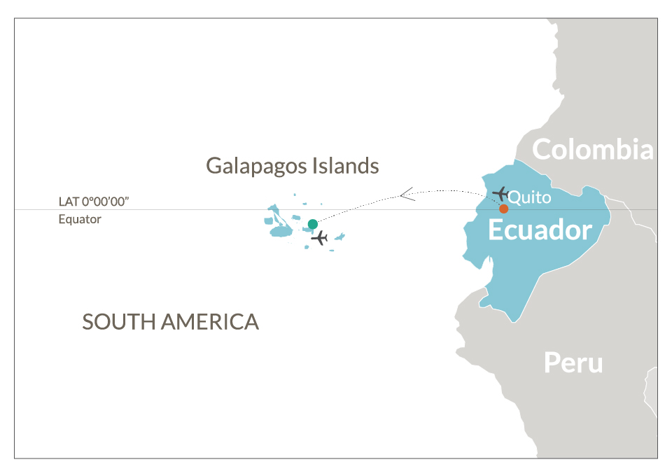 how to get to galapagos