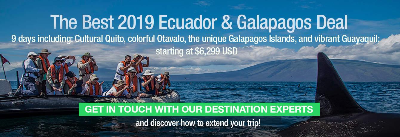 Special Deal Galapagos Ecuador