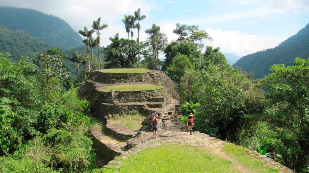 Colombia's lost city.