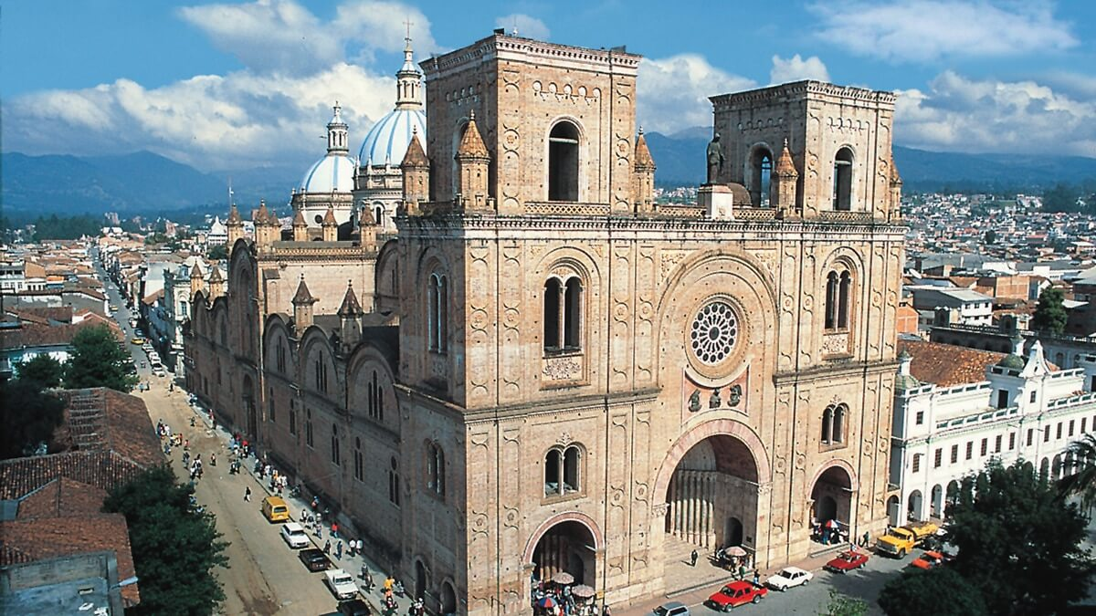 Cuenca's Cathedral.