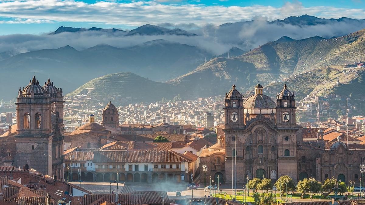 The Cusco Plaza.