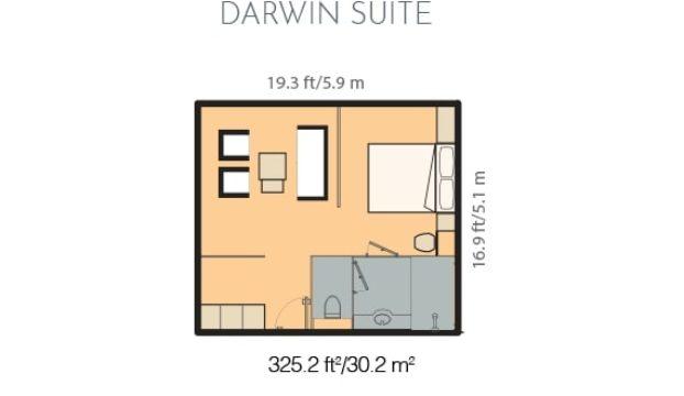 Darwin Suite in Santa Cruz II.