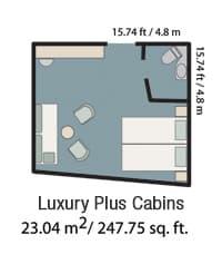Triple cabin.