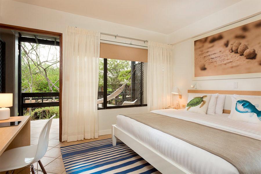 Double room in Finch Bay Hotel.