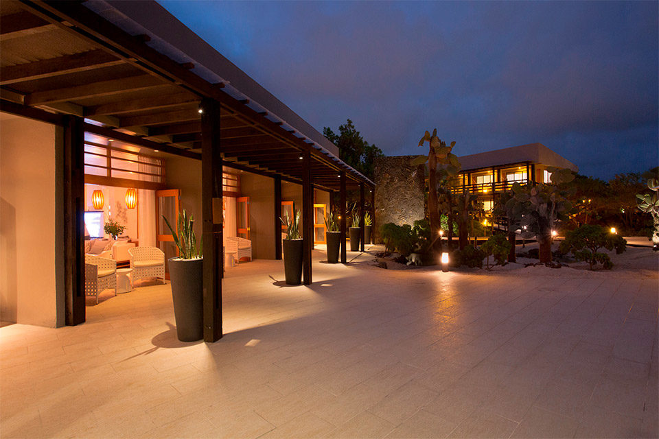 Finch Bay Hotel.