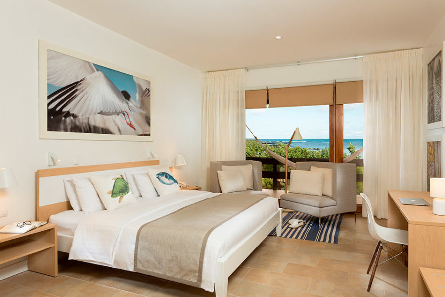 The Finch Bay Hotel's suite.
