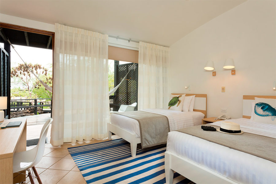 Finch Bay Hotel – Twin Room.
