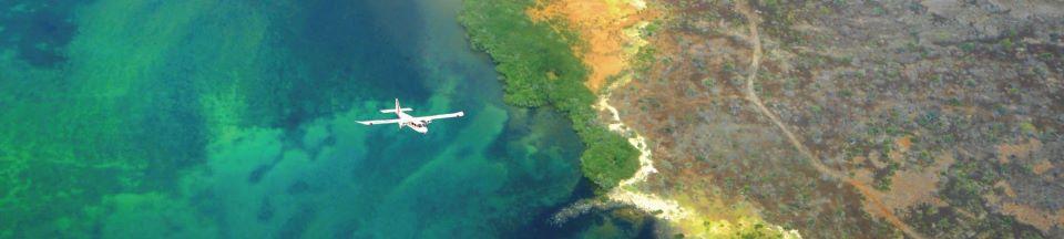 Galapagos' Island hopping flight.