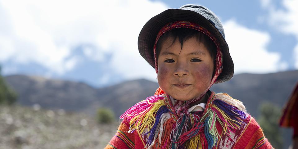 A kid from Peru.