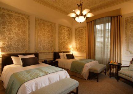 Casa Gangotena Luxury room.