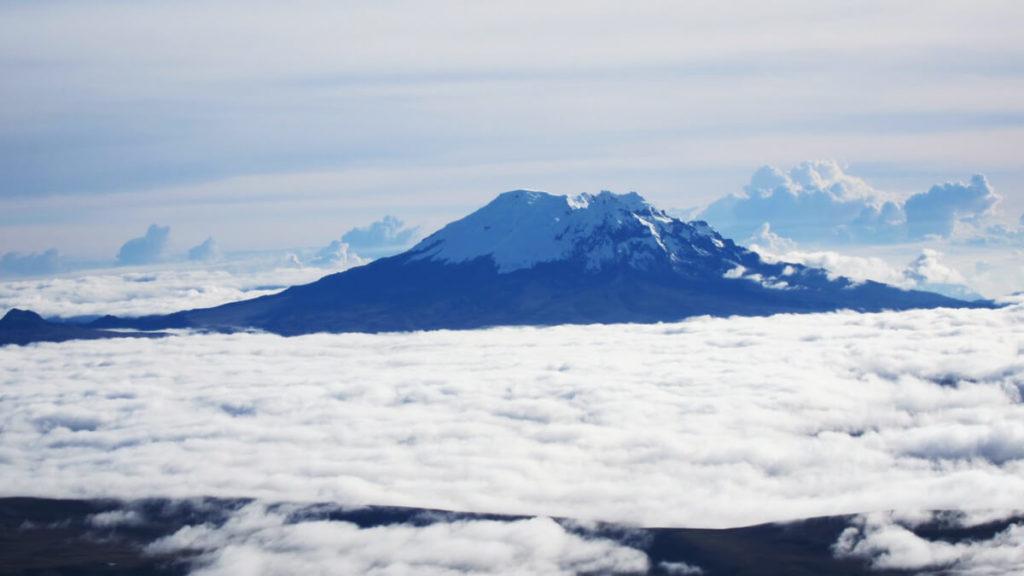 Antisana volcano.
