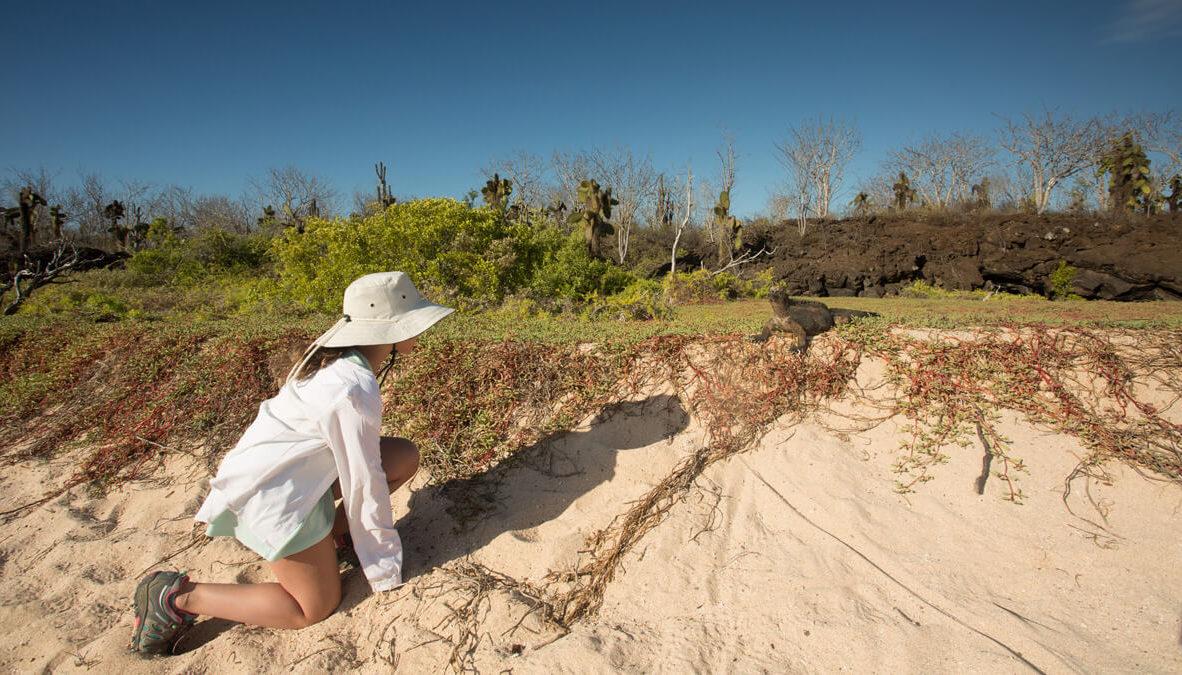 Galapagos land exploration.