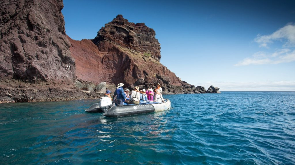 Island Hopping in the Galapagos Islands.