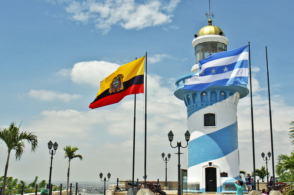 Guayaquil city in Ecuador.