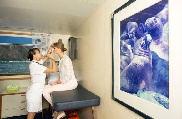 The infirmary in Santa Cruz II.