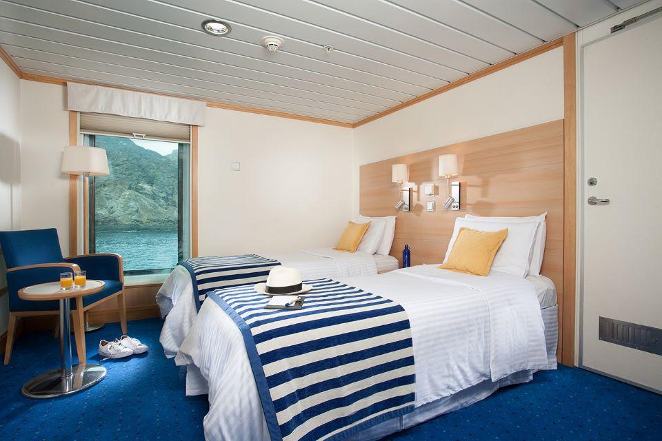 Twin Cabin - Yacht La Pinta.