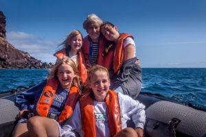 Panga ride photo in the Galapagos Islands, Ecuador