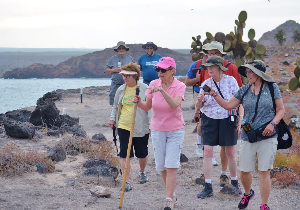 activities in the Galapagos are apt for people of all ages
