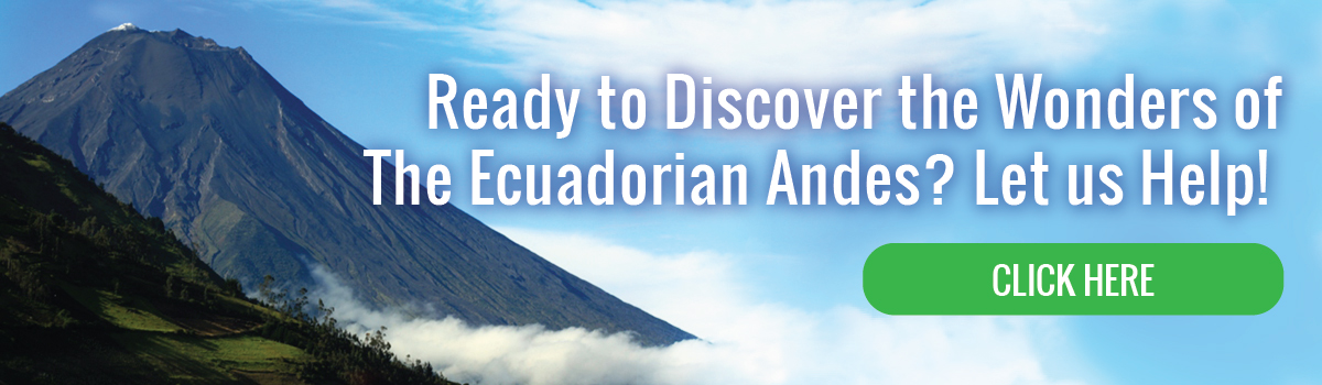 Ready to discover the Wonders of The Ecuadorian Andes?